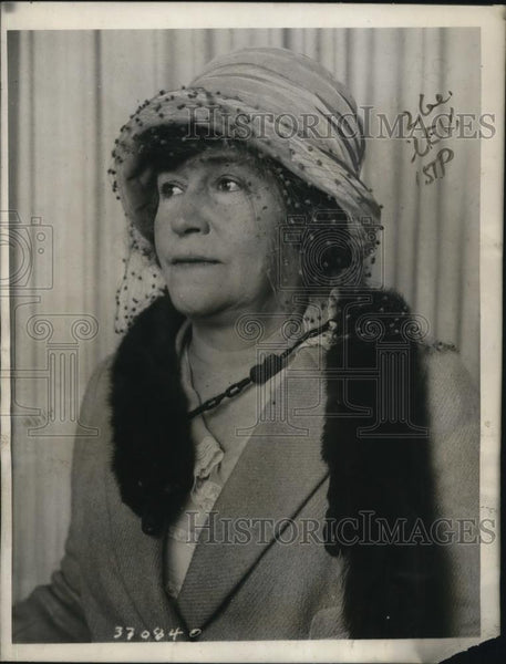 1922 Press Photo Mrs Theodore Parsons At Hotel Pennsylvania Womens City Club - Historic Images
