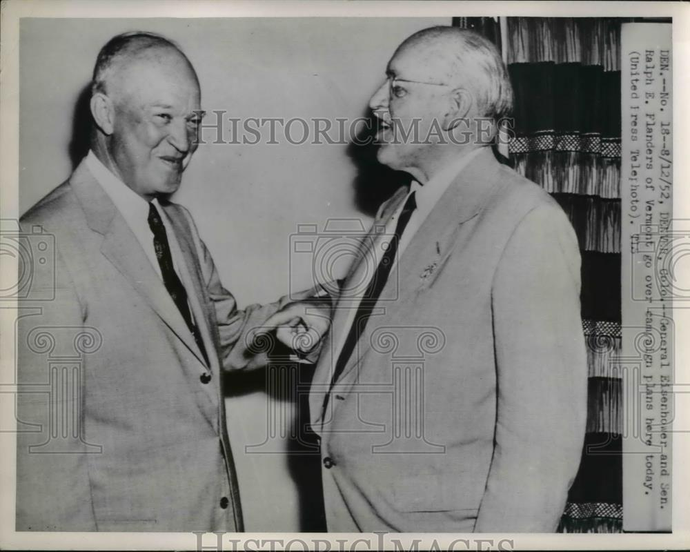 Image result for ralph flanders and eisenhower