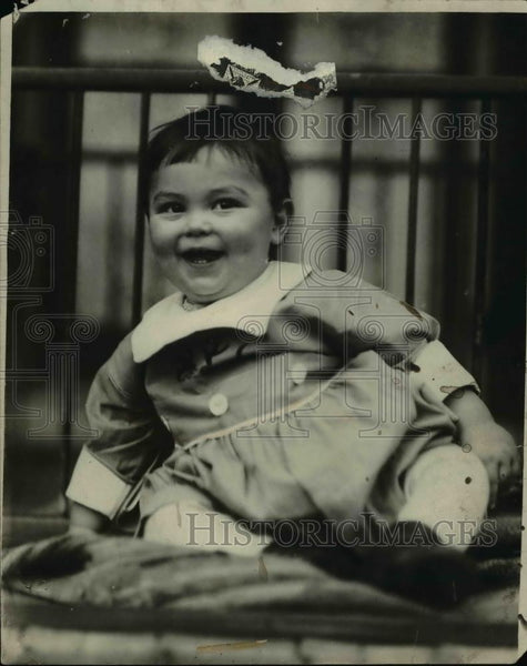 1922 Press Photo Baby Maurice Weaver - Historic Images
