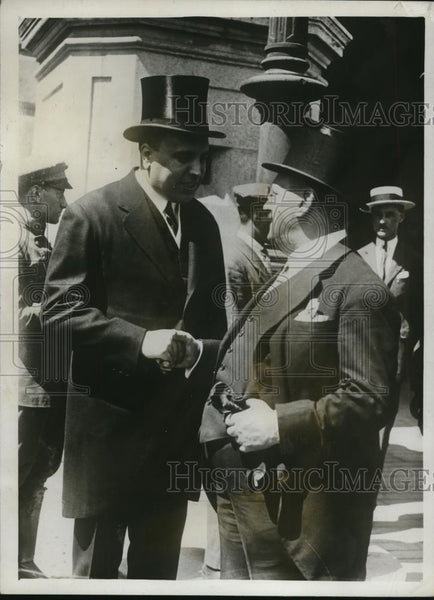 1926 Press Photo Gen Martinez Anide Interior Minister & Labour Minister Aunos - Historic Images