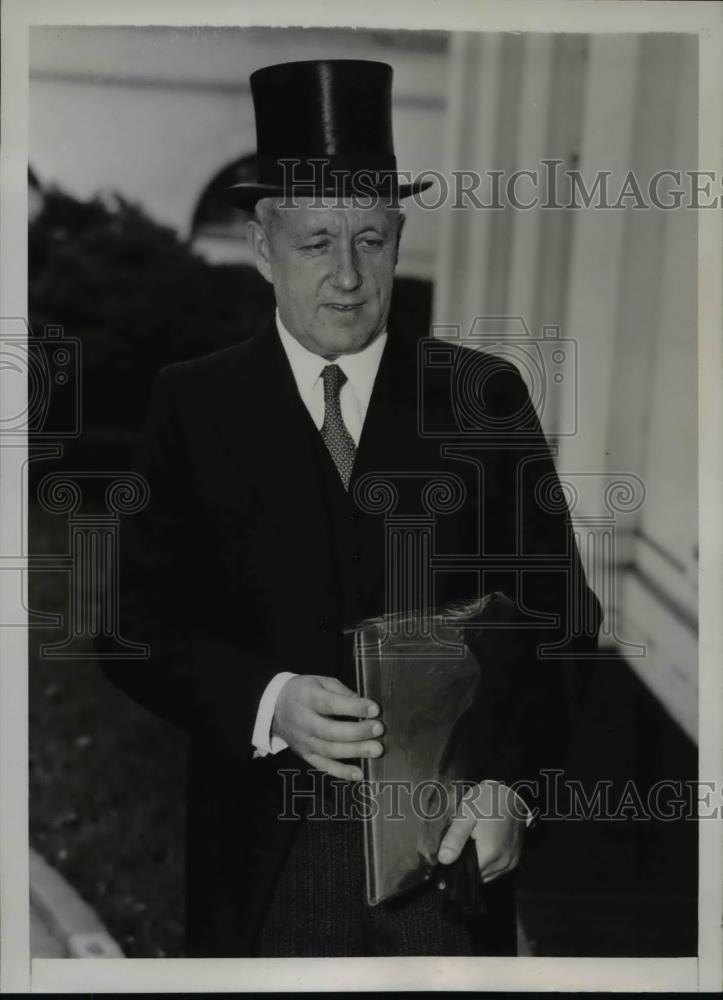 1938 Press Photo Eero Jarnefelt,Finland's Minister of the United States - Historic Images