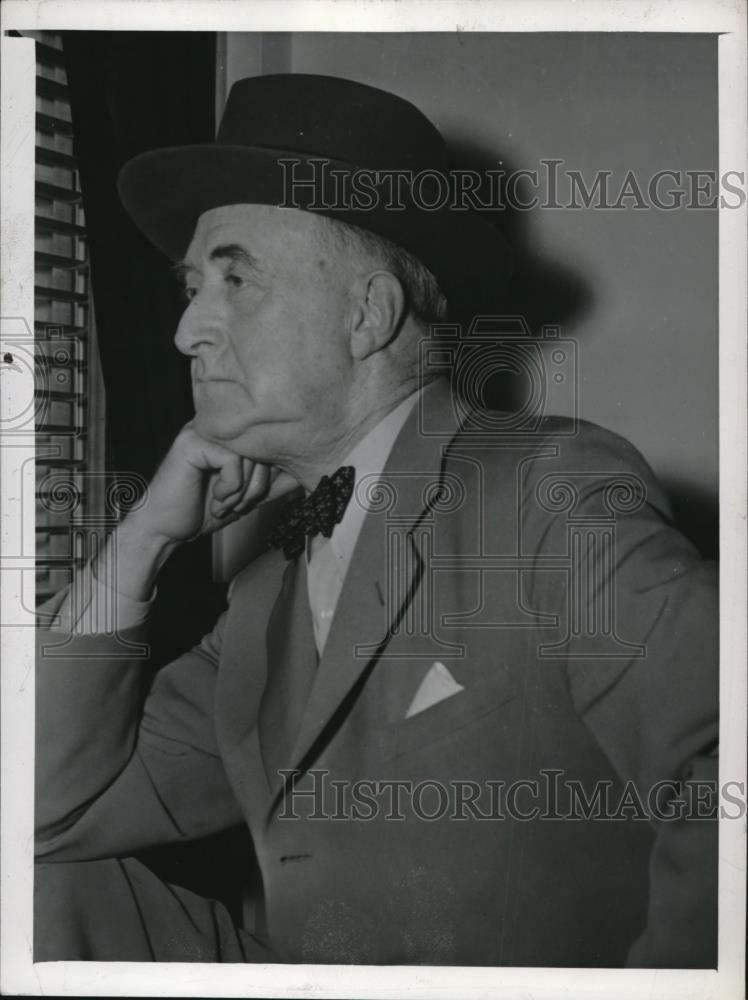 1943 Press Photo Col. Edmund W Starling on White House Secret Service, - Historic Images