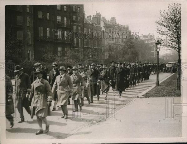 1926 Press Photo great general strike, constables protect life/property London - Historic Images