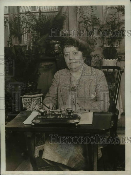1930 Press Photo Mrs. Jean Dewar Robertson of Streatham - Historic Images