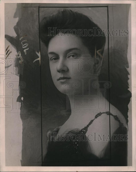 1920 Press Photo Divorced wife of Samuel Lopius, who was slain in his apartment - Historic Images