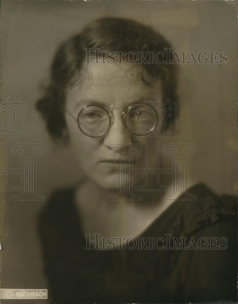 1922 Press Photo Miss Tillie Butler, Superintendent's Office Employee - Historic Images