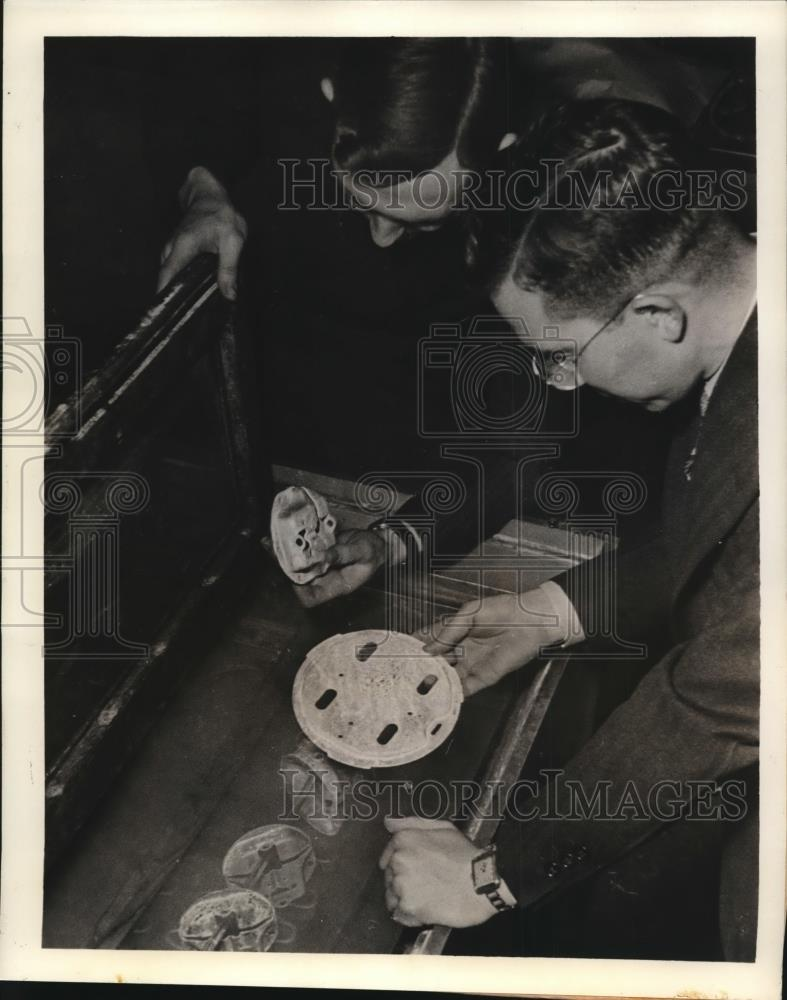 1939 Press Photo of salt spray weather box or refrigerator testing. - nee34395 - Historic Images