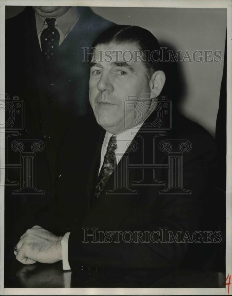 1940 Press Photo Joseph Ryan arraigned at the Federal Court - nee29511 - Historic Images