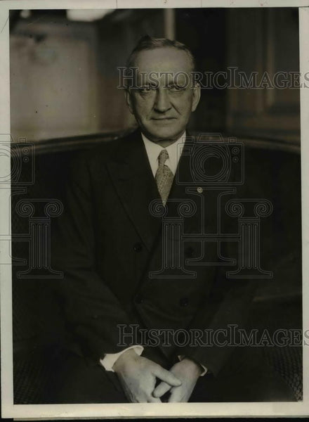 1930 Press Photo Dr C Jeff Miller professor of gynecology at Tulane University - Historic Images