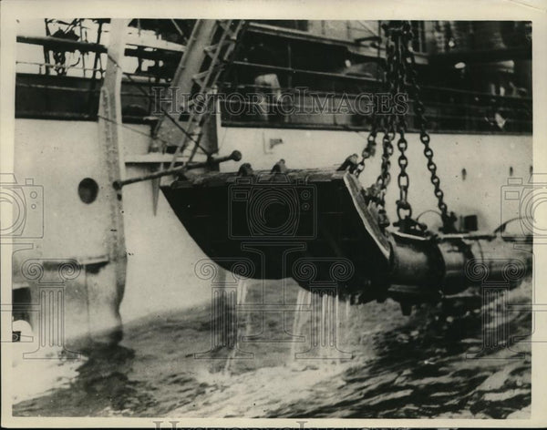 1926 Press Photo San Francisco Bay Golden Gate entrance, dredger Culebra - Historic Images