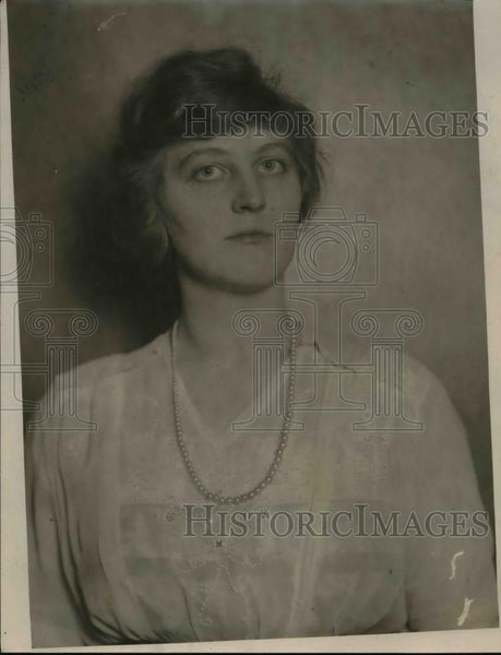 1921 Press Photo Dr. Freida Museller Hefmeister - Historic Images