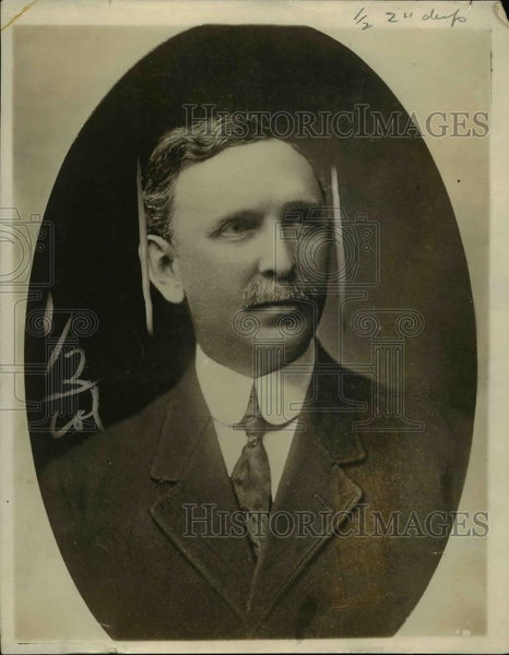 1916 Press Photo Charles R Towson, associate general secretary of Nat'l War Work - Historic Images