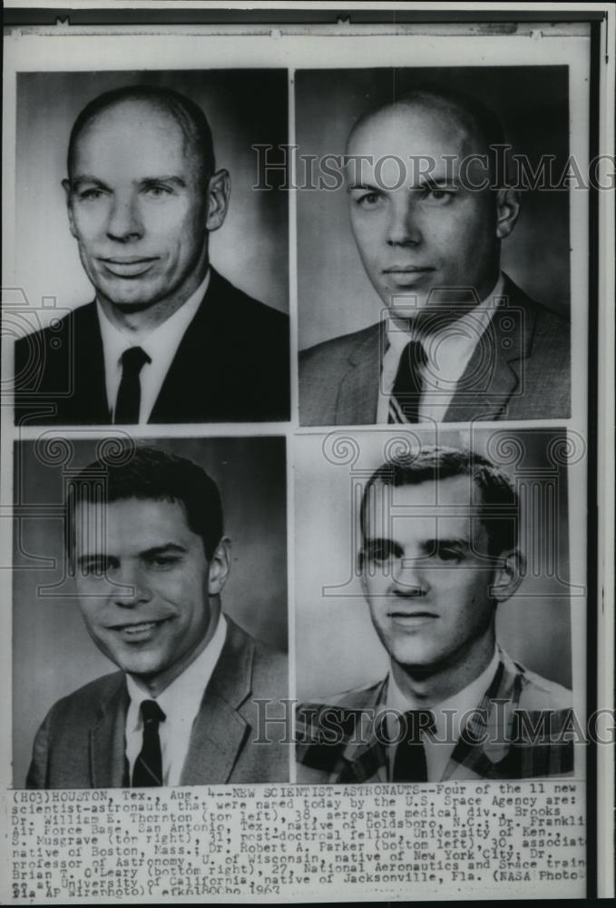 1967 Press Photo Four of the 11 new scientist-astronauts that were named today - Historic Images
