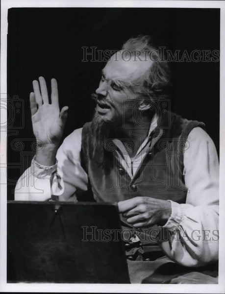 1966 Press Photo Richard Kiley Singer and Actor - cvp30495 - Historic Images