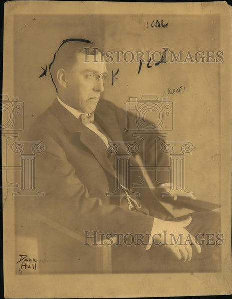 1910 Press Photo Walter L. Fisher, United States 25th Secretary of Interior. - Historic Images