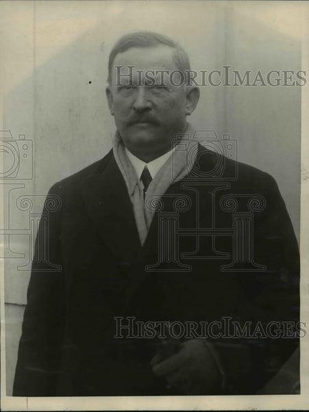 1923 Press Photo Asst. Surgeon General Rupert Blue arrived on Majestic. - Historic Images