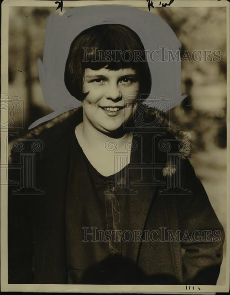 1926 Press Photo Miss Francis Iglehart Healthiest Girl in Washington DC - Historic Images