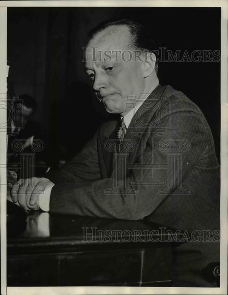 1934 Press Photo Maryland Attorney General W. Preston Lane - Historic Images