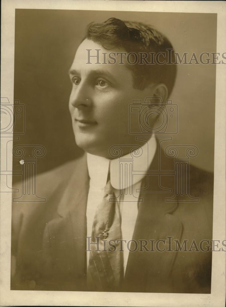1919 Press Photo Harry Wardman Greatest Housing Expert in America - Historic Images