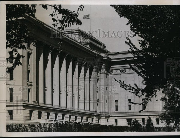 1935 Press Photo State Capitol at Oklahoma City, OK - Historic Images