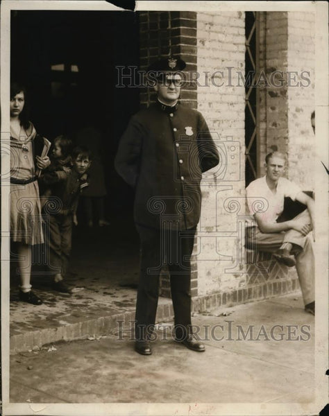 1929 Press Photo Captain Andrew Hagan - Historic Images