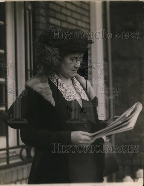 1921 Press Photo Florence King President of National Women's Association - Historic Images