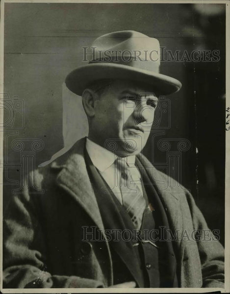 1923 Press Photo Dr William Marhew Robb whose name has been mentioned - Historic Images