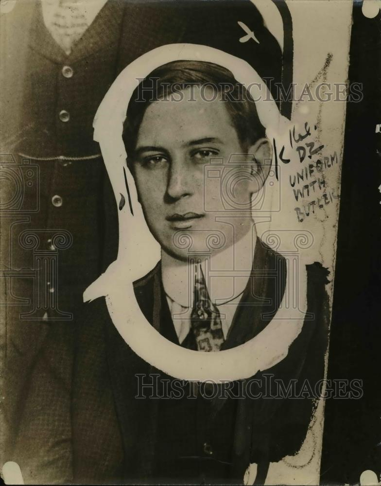 1920 Press Photo Prosecutor Claris Adams J L Kilgallen Contempt of Court Case - Historic Images
