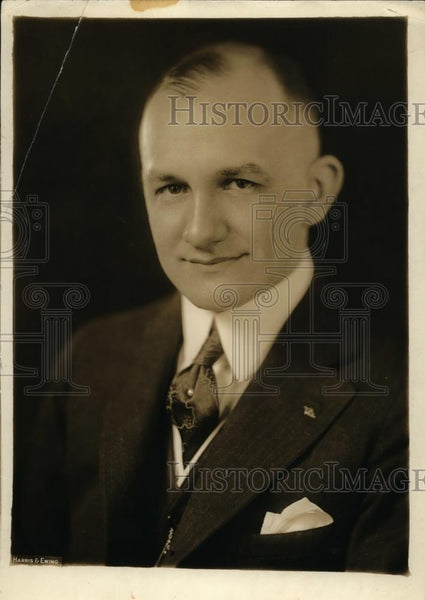 1925 Press Photo Doctor O.U. Singer - nee87679 - Historic Images