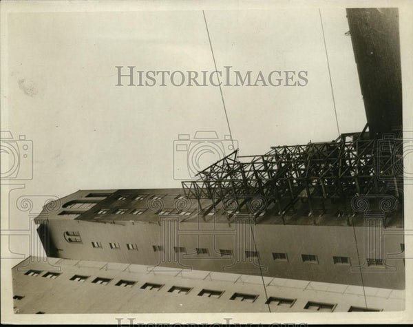 1926 Press Photo Building Collapsed at San Francisco - nee86485 - Historic Images