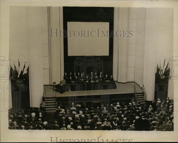 1935 Press Photo General View of International Astronomical Union Meeting - Historic Images