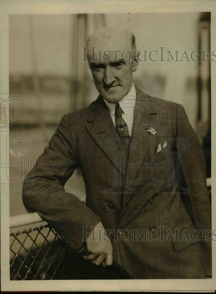1926 Press Photo Victor Slater,Sec.for International Advertising Convention - Historic Images
