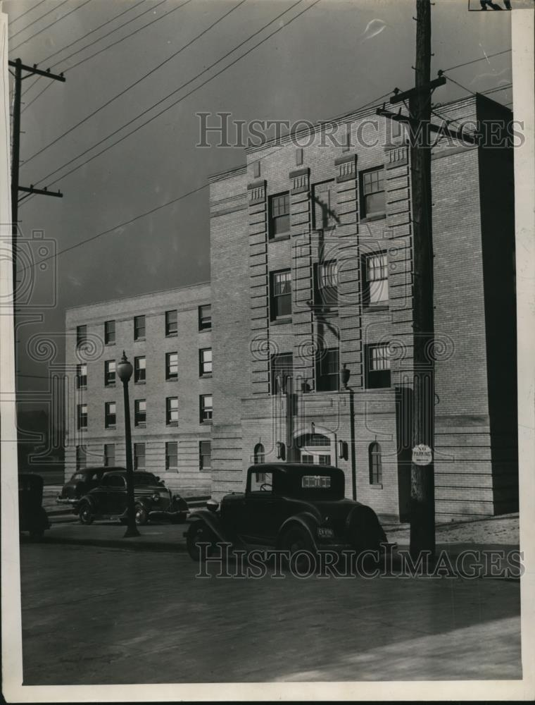 1940 Press Photo New edition to Fairview Park Hospital W.32nd & Franklin Ave - Historic Images