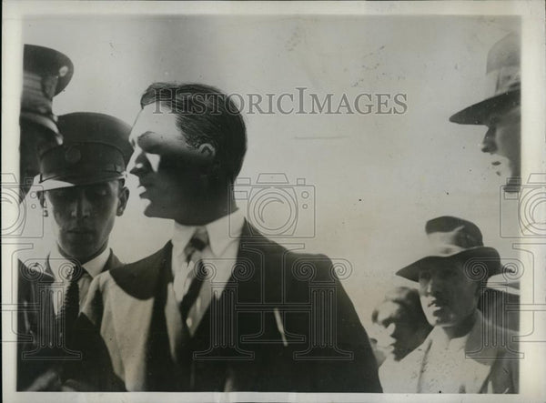 1931 Press Photo Daniel Flores shot President Ortiz Rubio of Mexico - nee87179 - Historic Images