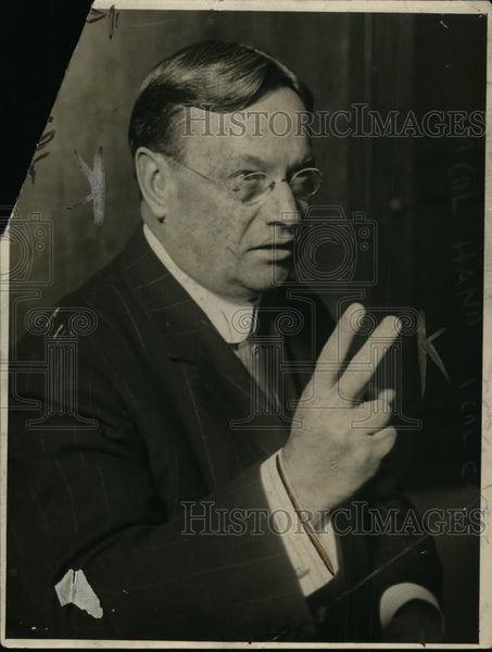1919 Press Photo Hiram Johnson US Senator from California - nee87510 - Historic Images
