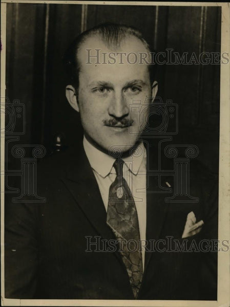 1925 Press Photo Dr Charles Faiman head of Chicago University of Science - Historic Images