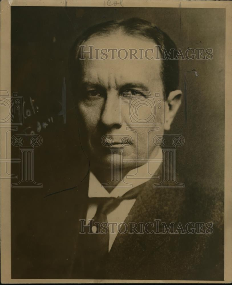 1918 Press Photo Judge Robert Scott Lovett Director of Division of Betterments - Historic Images