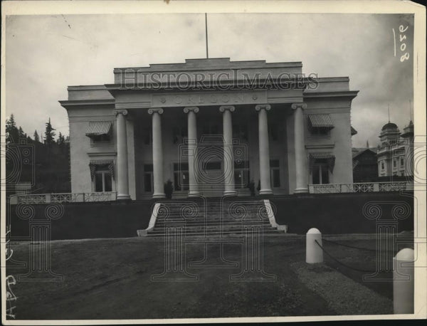 1930 Press Photo General View of the Oregon building at Lewis & Clair Fair - Historic Images