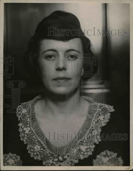 1925 Press Photo Clara Smith Hamen. murdered - nee90225 - Historic Images