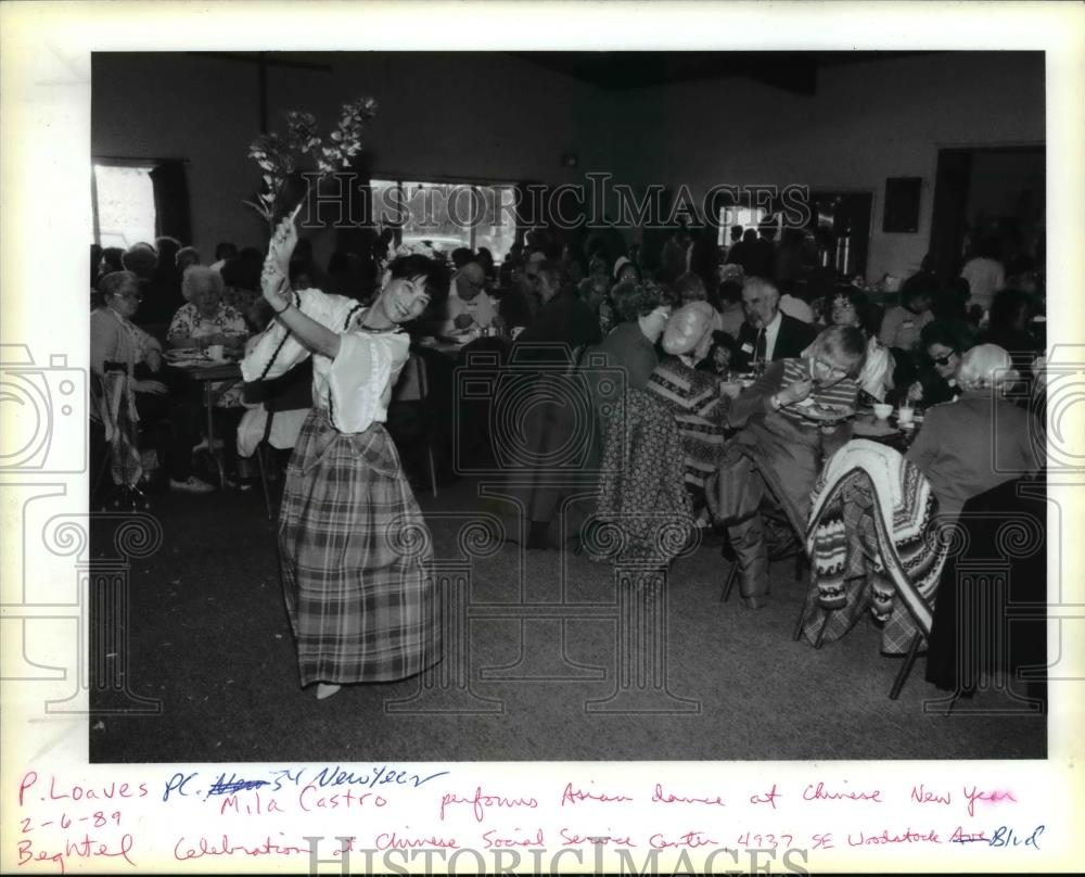 1969 press photo chinese new year mila castro peok lok loaves and fishes historic images - Chinese New Year 1969
