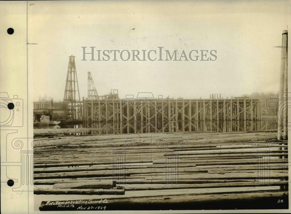 1929 Press Photo Fir Tex Insulating Board Company - orb75639 - Historic Images