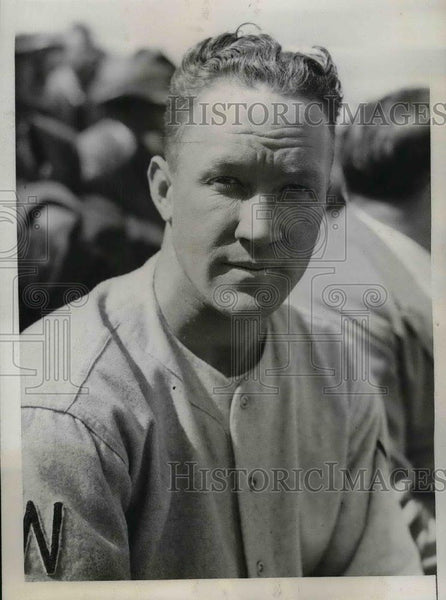 1936 Press Photo Washington Senators minor league outfielder Wilson Miles - Historic Images