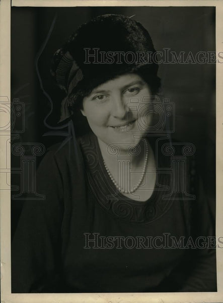1920 Press Photo Mrs Joel Thorne - neb39062 - Historic Images