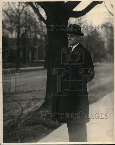 1922 Press Photo Waldo C. Gug, Prosecuting Attorney of HancockCounty - Historic Images