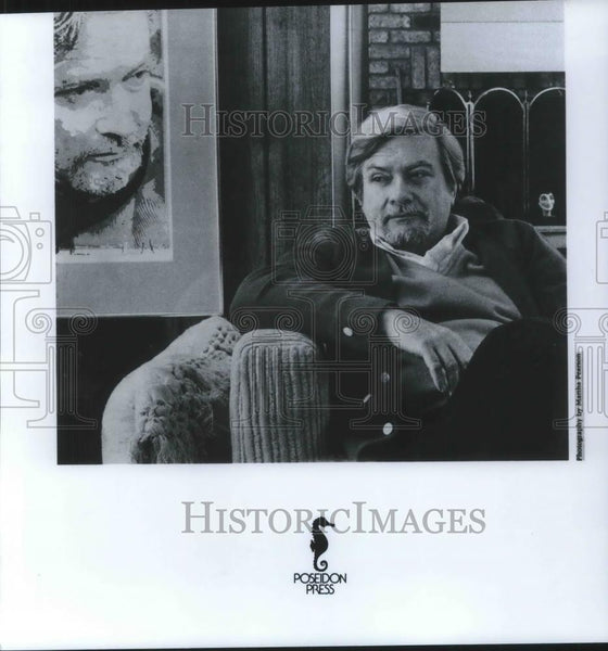 Press Photo Robert Campbell Author - cvp07800 - Historic Images