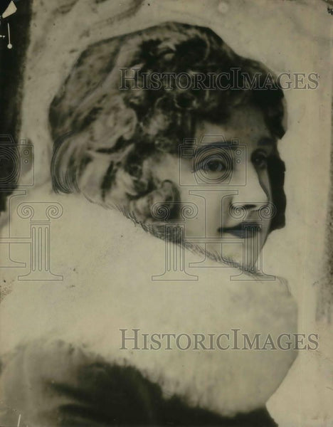 1916 Press Photo Dolores Evens - cvp12057 - Historic Images