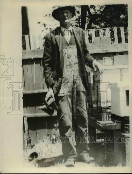 1926 Press Photo E.R Harden of Crockett, California - nee92142 - Historic Images