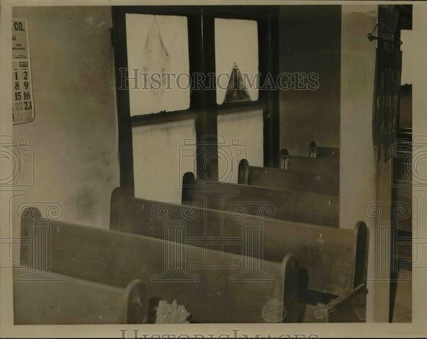 1935 Press Photo Thankful Baptist Church  - nee92291 - Historic Images