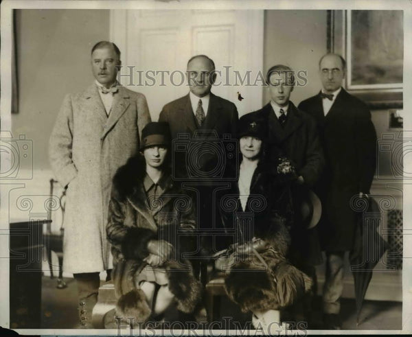 1927 Press Photo Daphne Harmsworth Mrs Cecil Harmsworth  - nee92598 - Historic Images