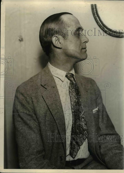 1925 Press Photo Man wears shirt with jacket and tie - nee93157 - Historic Images